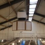 OctaFil Fnedust reduction in poultry barn