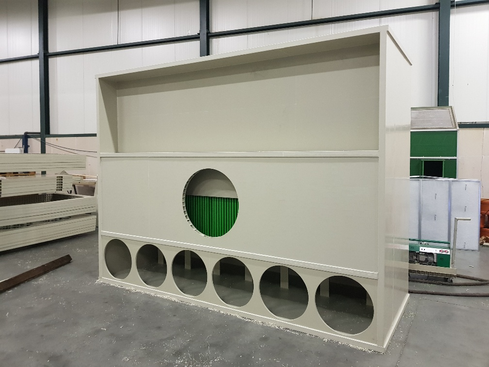 AIR2-Fish - Warmtewisselaar in productie