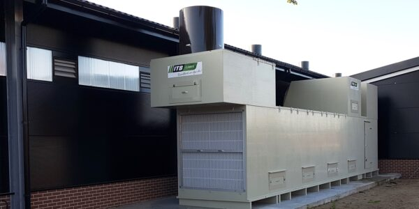 AIR2-DSK heat exchanger for both heating and cooling in the British poultry industry