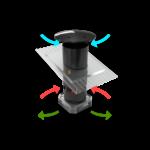 ClimaMix ITB Climate balans ventilatie, gelijkdruk ventilatie voor stallen met vrije uitloop voor kalveren, varkens en pluimvee