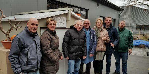 ITB Climate schenkt tuinhuis aan Gasthuis 'Het Stekkie'