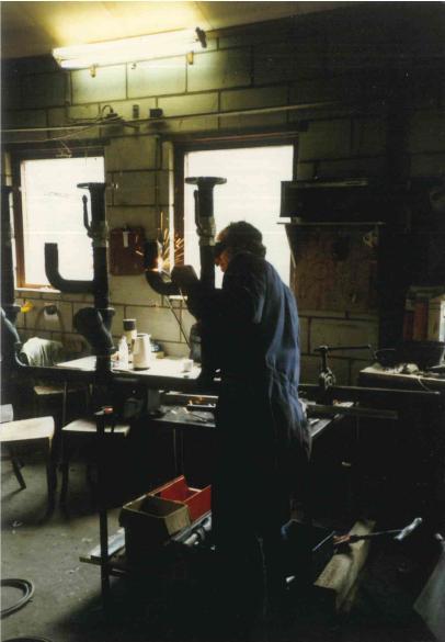 Productie hal in Oeffelt (1985)