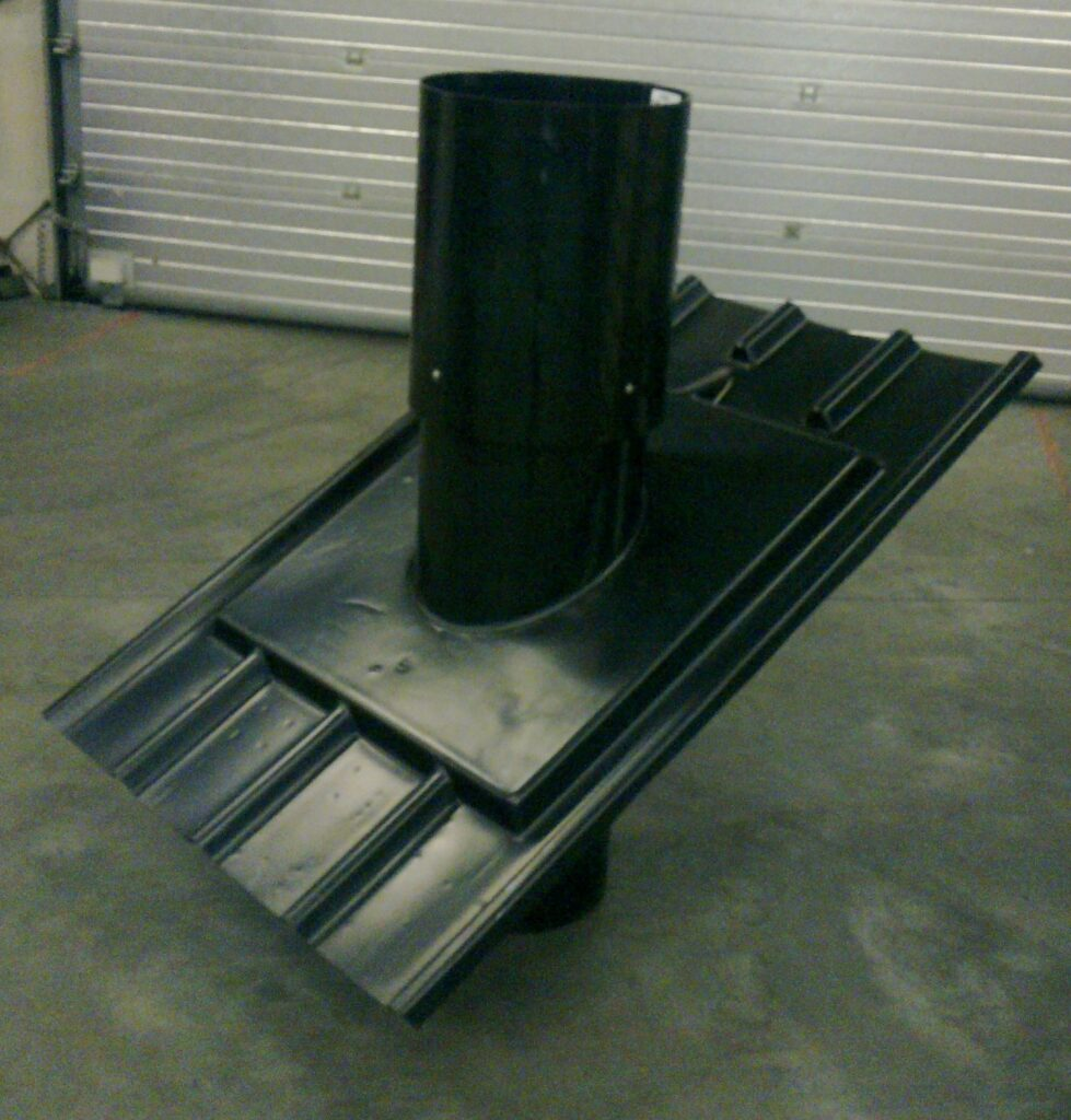 Ventilation Chimney with profiled roofsheet