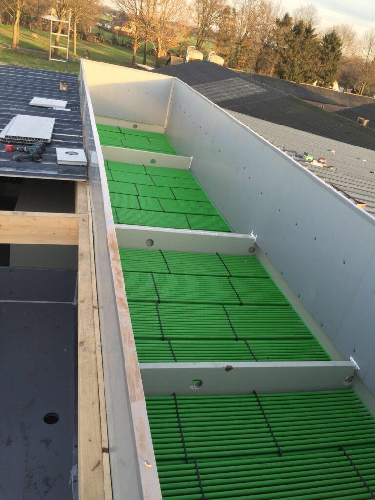Warmtewisselaar AIR2-ASI geïntegreerd in de luchtwasser.